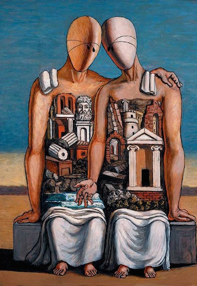 The Archaeologists (1927) Giorgio de Chirico