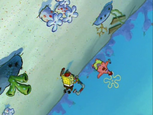 Spongebob and Wrench